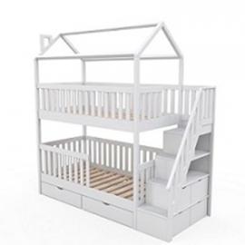 Детская двухъярусная кровать Витязь-1