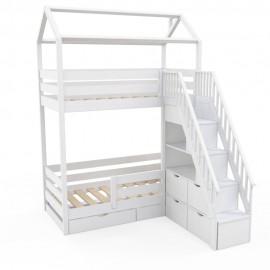 Детская двухъярусная кровать Витязь-2