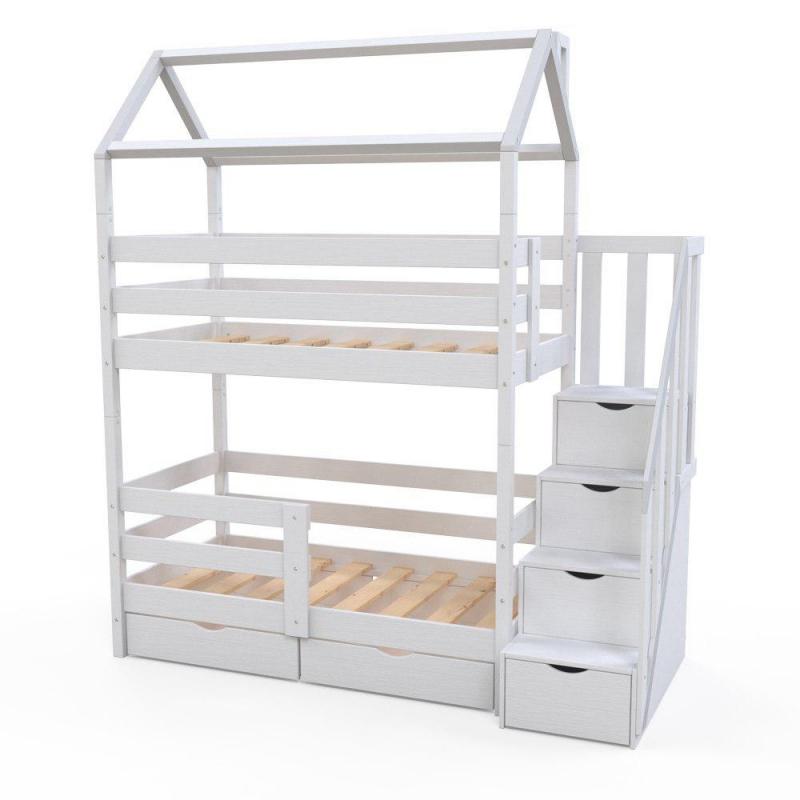 Детская двухъярусная кровать Витязь-3