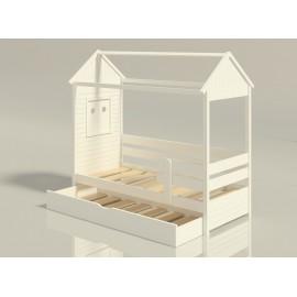 Детская кровать-домик Забава 1 с доп. спальным местом